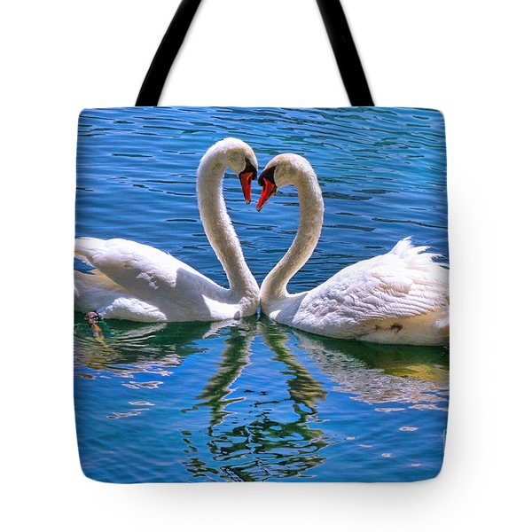 Love For Lauren On Lake Eola By Diana Sainz Tote Bag