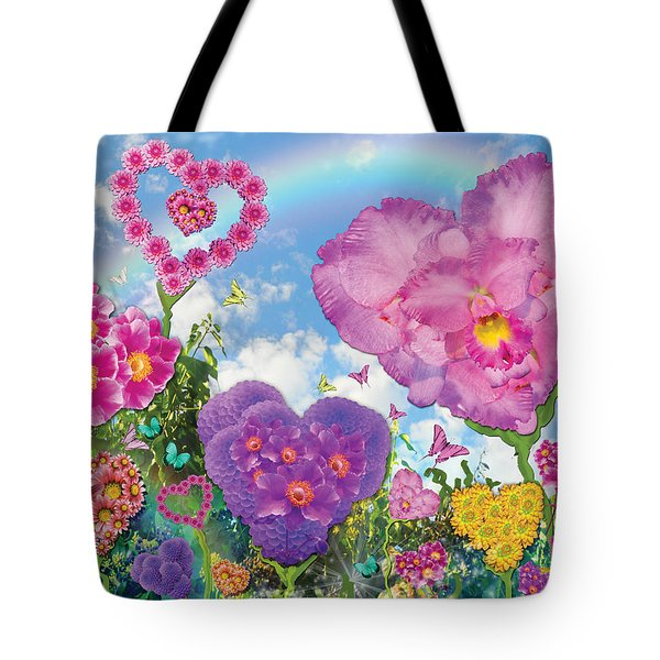 Love Garden Tote Bag by Alixandra Mullins