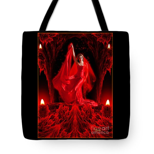 Love Goddess - Fantasy Art By Rgiada Tote Bag