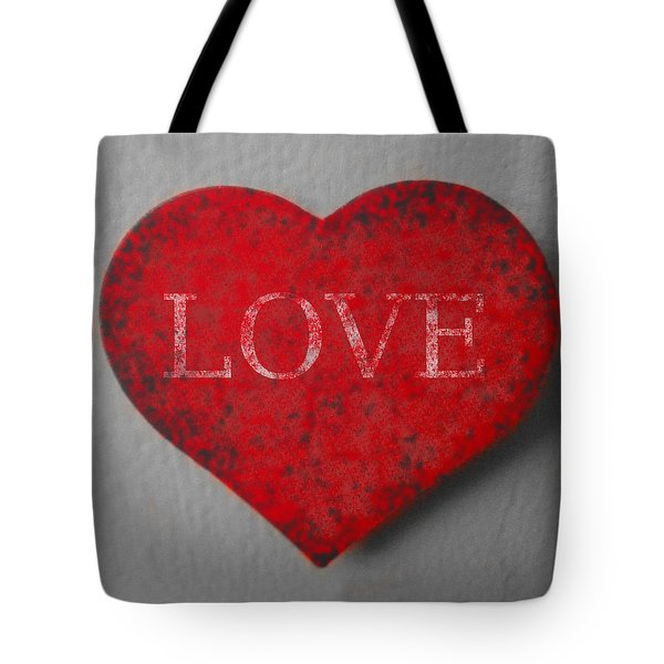 Love Heart 1 Tote Bag by Richard Reeve