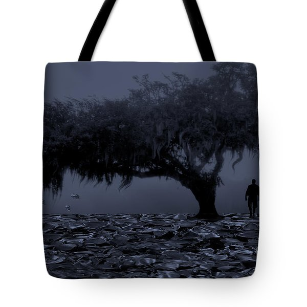 Love In Moon Light Tote Bag