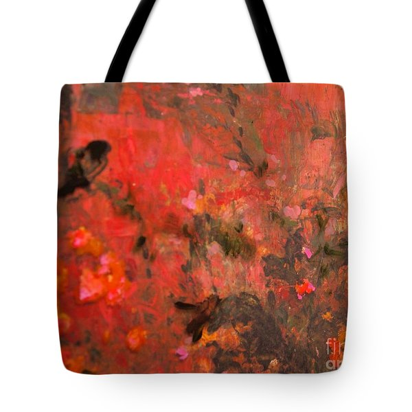 Love In Red 3 Tote Bag
