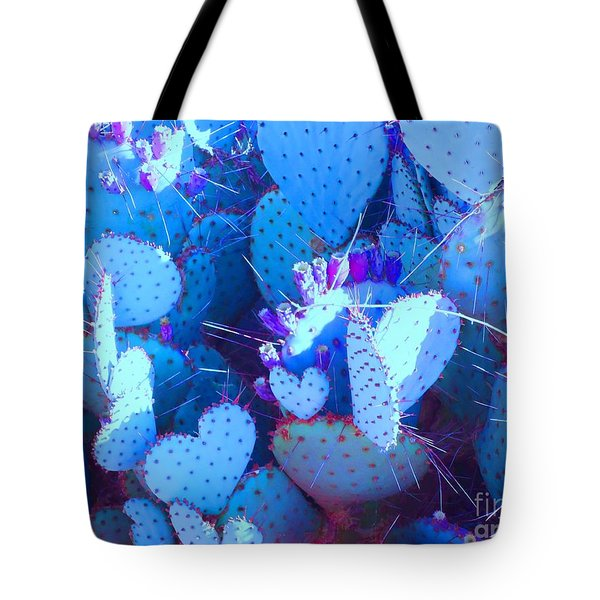 Love In The Desert Tote Bag