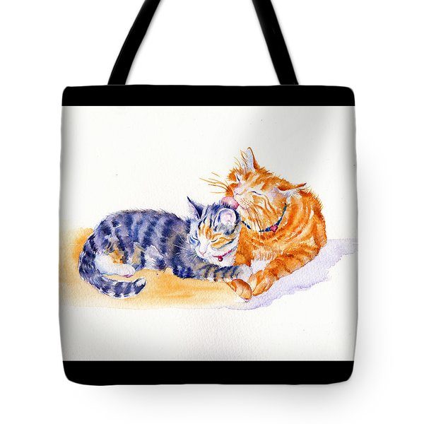 Love Is A Touch Tote Bag