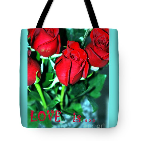 Love Is... Collection. Delightful Tote Bag