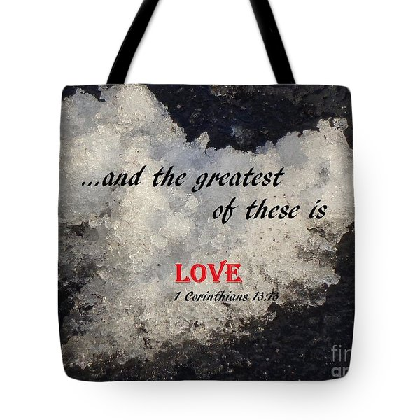 Love Is Great Tote Bag
