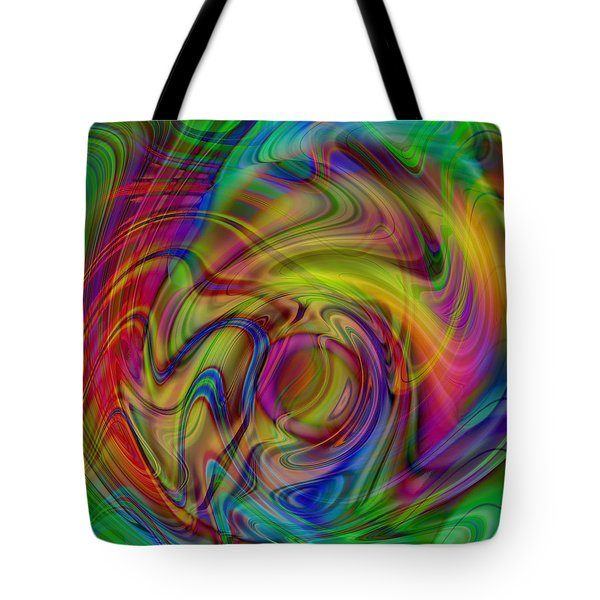Love Is In The Air Tote Bag by Kevin Caudill