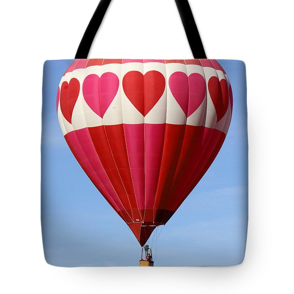 Love Is In The Air Tote Bag by Mike McGlothlen