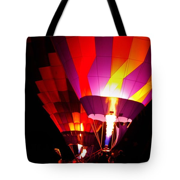 Tote Bag featuring the photograph Love Is In The Air by Nancy Cupp