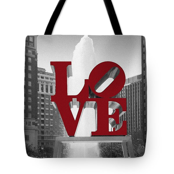 Love Is Red Tote Bag