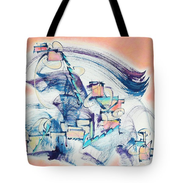Love Leading The Way Tote Bag by Asha Carolyn Young
