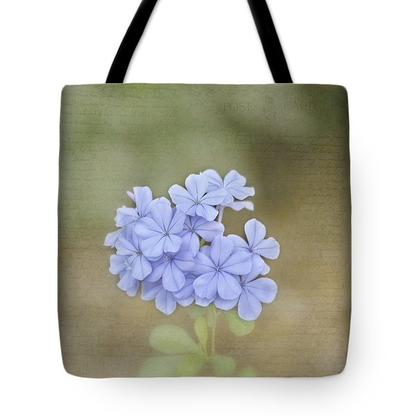 Love Letter Tote Bag by Kim Hojnacki