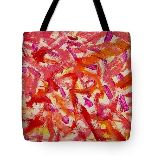 Love Tote Bag by Luz Elena Aponte
