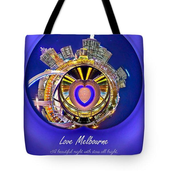 Love Melbourne Tote Bag
