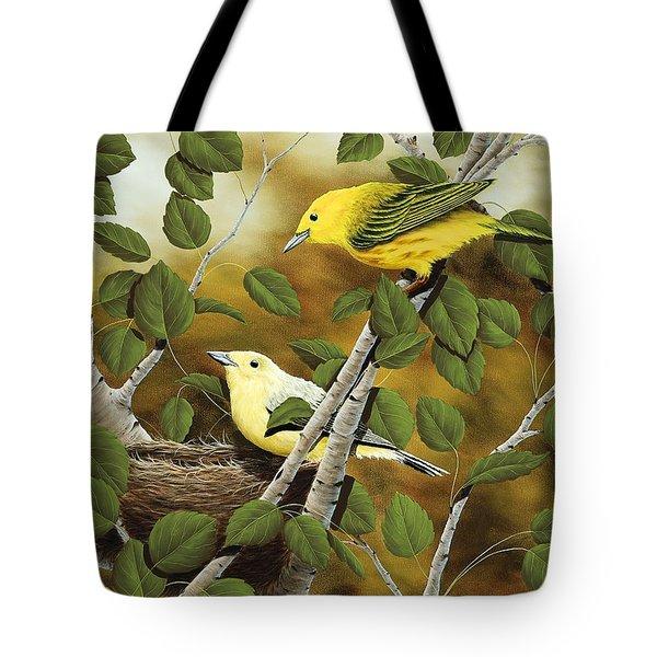 Love Nest Tote Bag by Rick Bainbridge