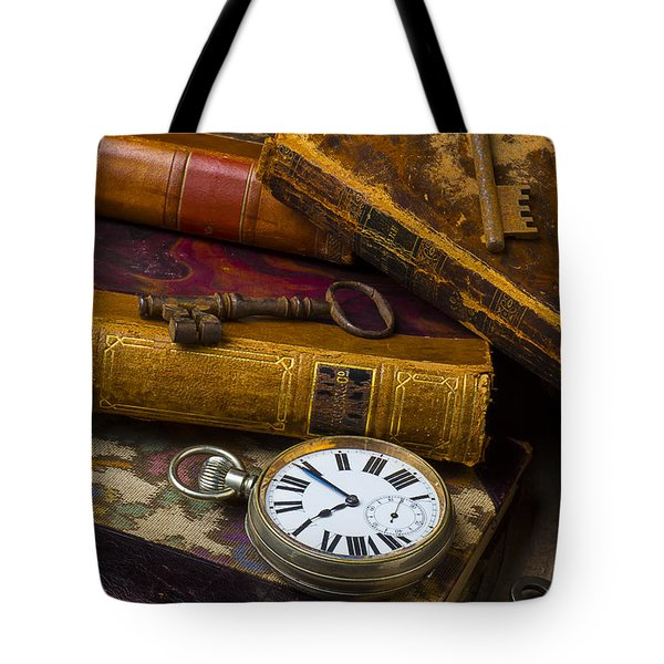Love Old Books Tote Bag by Garry Gay