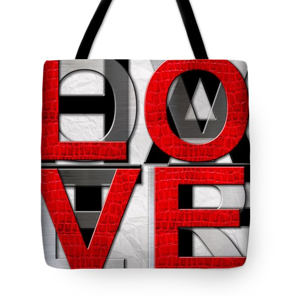 Love Over Hate Tote Bag