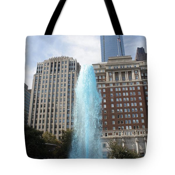Love Park Tote Bag by Christopher Woods