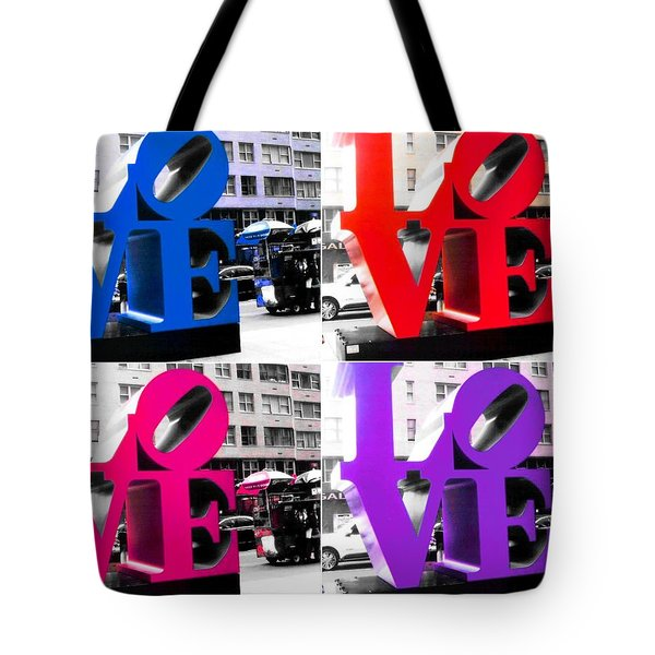 Love Pop Tote Bag