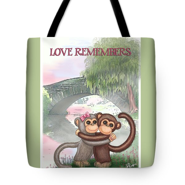 Love Remembers Tote Bag by Jerry Ruffin