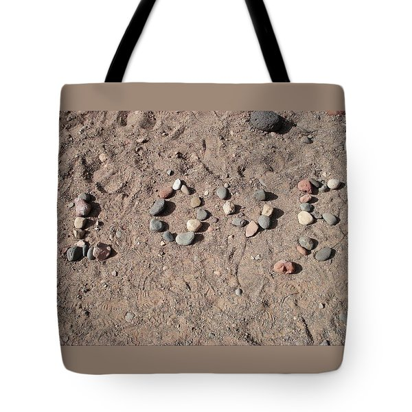 Love Rocks Tote Bag by Deborah Lacoste