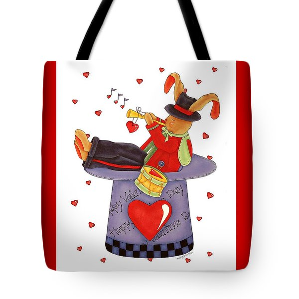 Love Somebunny Tote Bag by Tracy Campbell