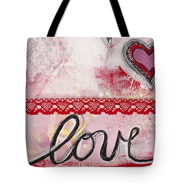 Love  Tote Bag by Stanka Vukelic