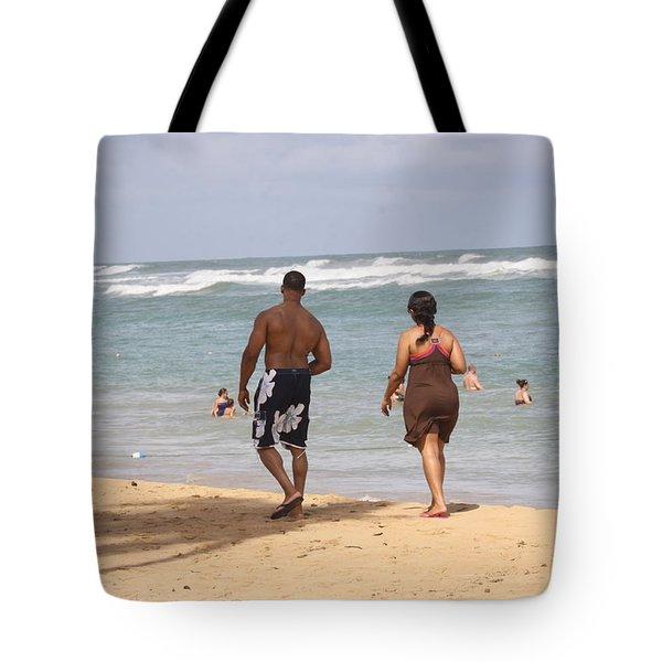 Love Stroll Tote Bag