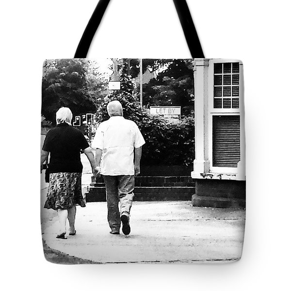 The Couple Tote Bag by Jason Michael Roust