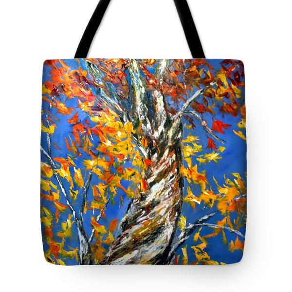 Tote Bag featuring the painting Love That Reaches by Meaghan Troup