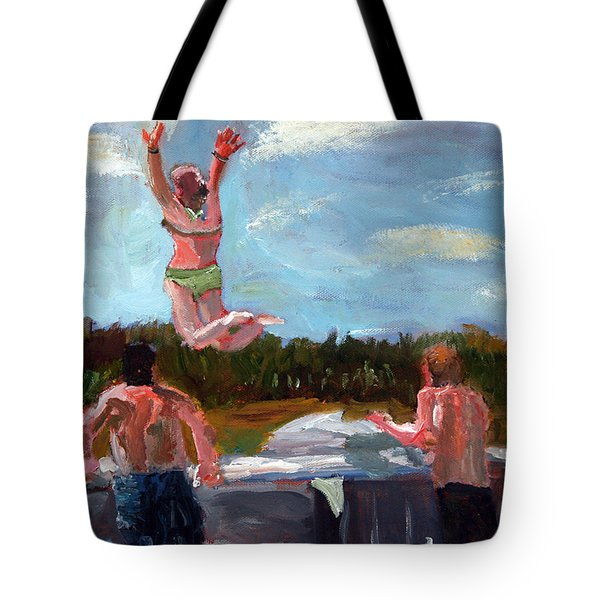 Love Triangle Tote Bag