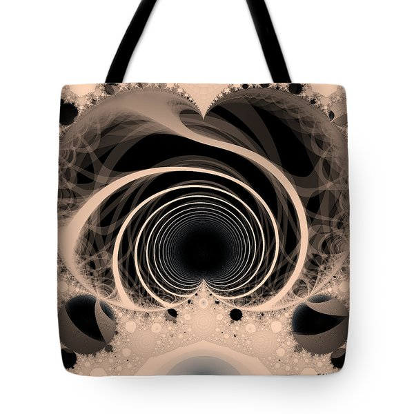 Love Tunnel Tote Bag by Elizabeth McTaggart