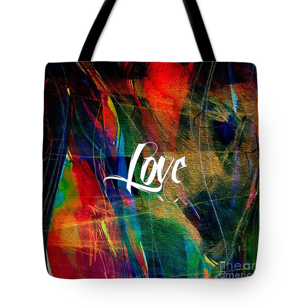 Love Wall Art Tote Bag by Marvin Blaine
