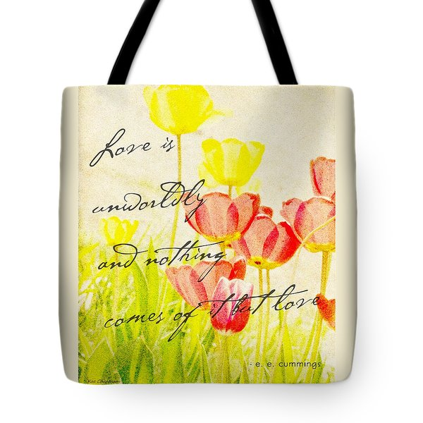 Love Words Tote Bag