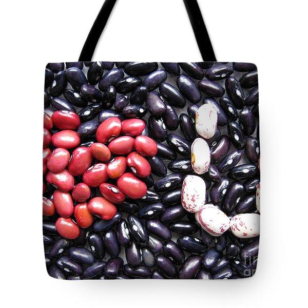 Love You Beans Tote Bag by Ausra Huntington nee Paulauskaite