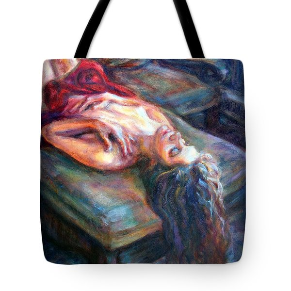 Loved Tote Bag by Quin Sweetman