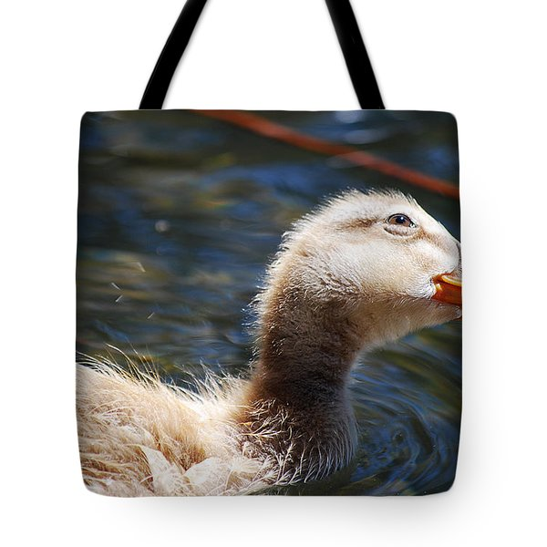 #loveduck Tote Bag by Becky Furgason