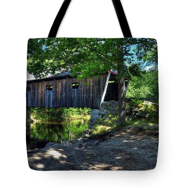 Lovejoy Covered Bridge Tote Bag