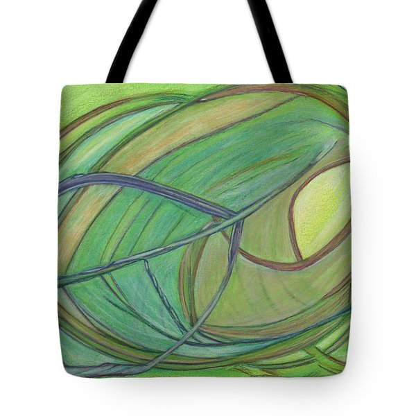 Loveliness Arises Tote Bag