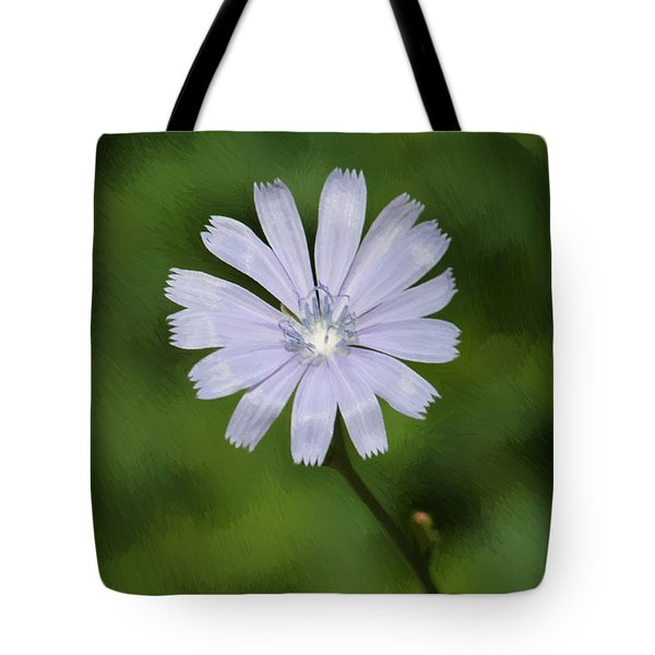 Tote Bag featuring the photograph Lovely Chickory by Anita Oakley