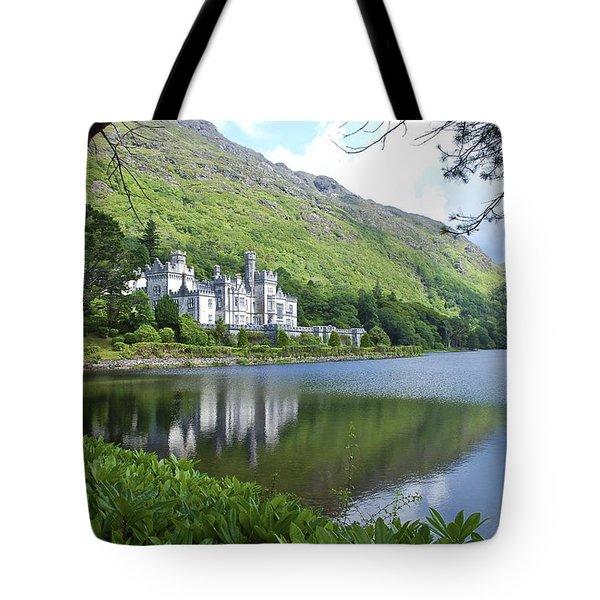Lovely Kylemore Abbey Tote Bag