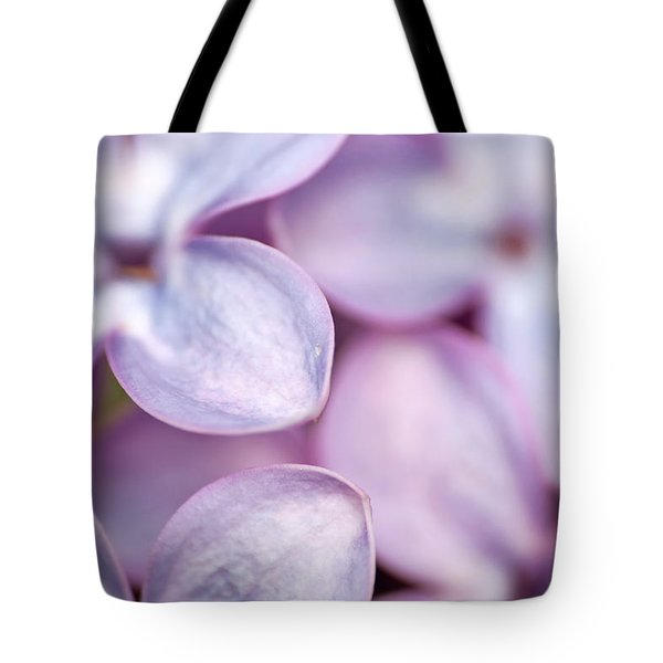 Lovely Lilacs Tote Bag by Peggy Collins