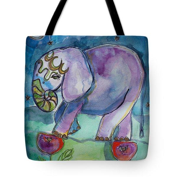 Lovely Little Elephant2 Tote Bag