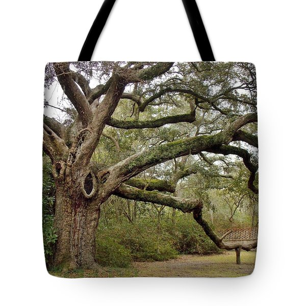 Lovely Live Oak Tote Bag