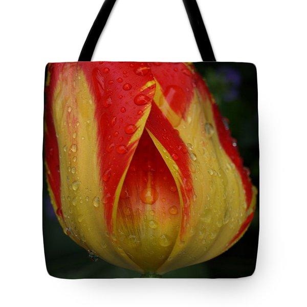Lovely Tulip Tote Bag