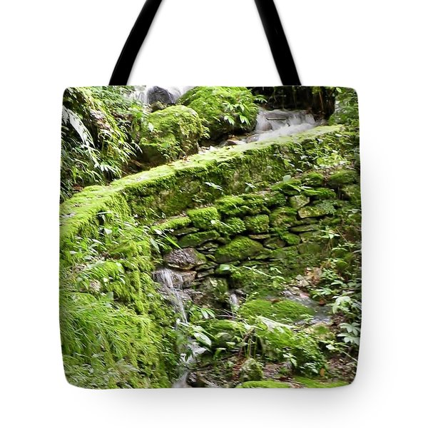 Lovely Waterfall Tote Bag