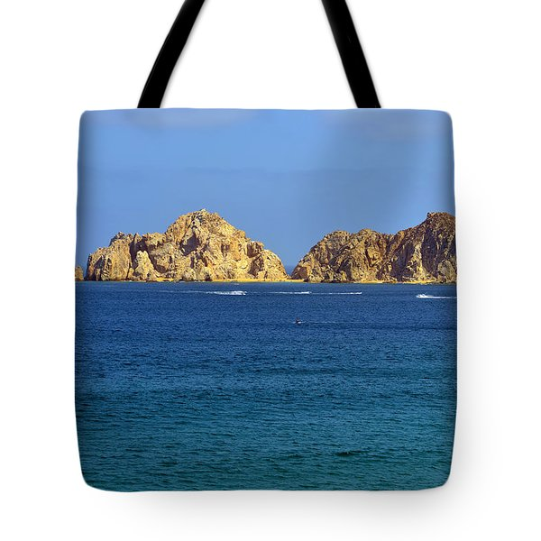 Tote Bag featuring the photograph Lovers Beach Cabo by Christine Till