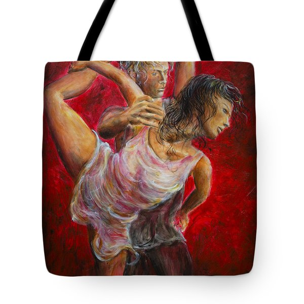 Lovers Red 04 Tote Bag