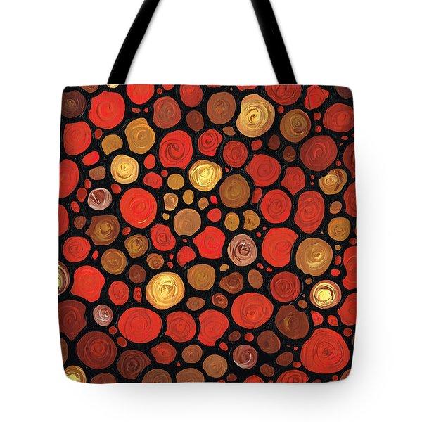 Lovers Tote Bag by Sharon Cummings