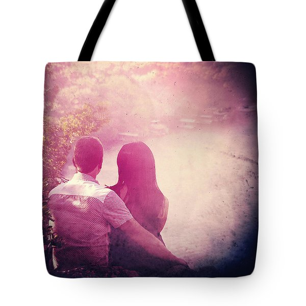 Lovestrong Tote Bag by Trish Mistric